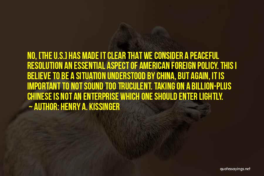 Henry A. Kissinger Quotes 2041371