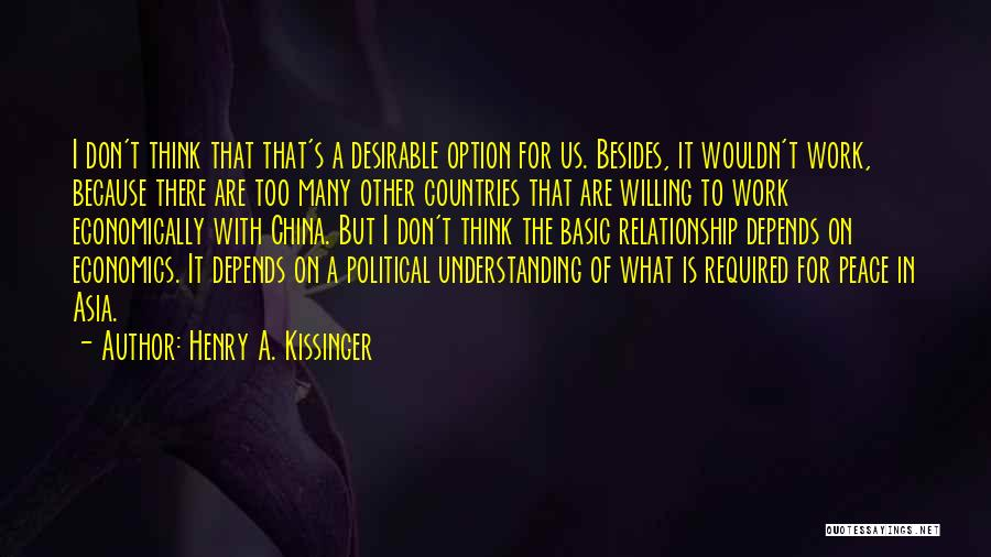 Henry A. Kissinger Quotes 336707
