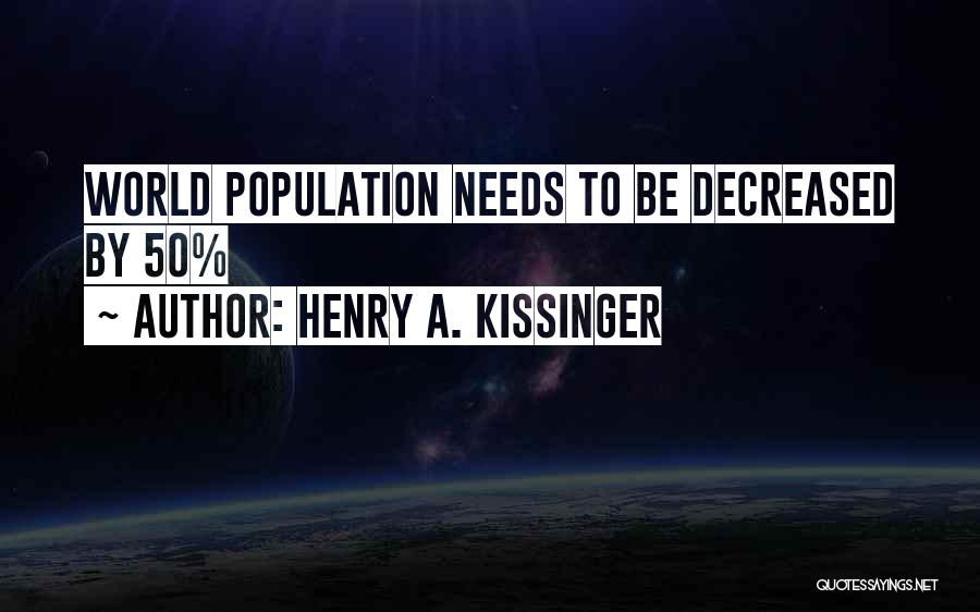 Henry A. Kissinger Quotes 378138