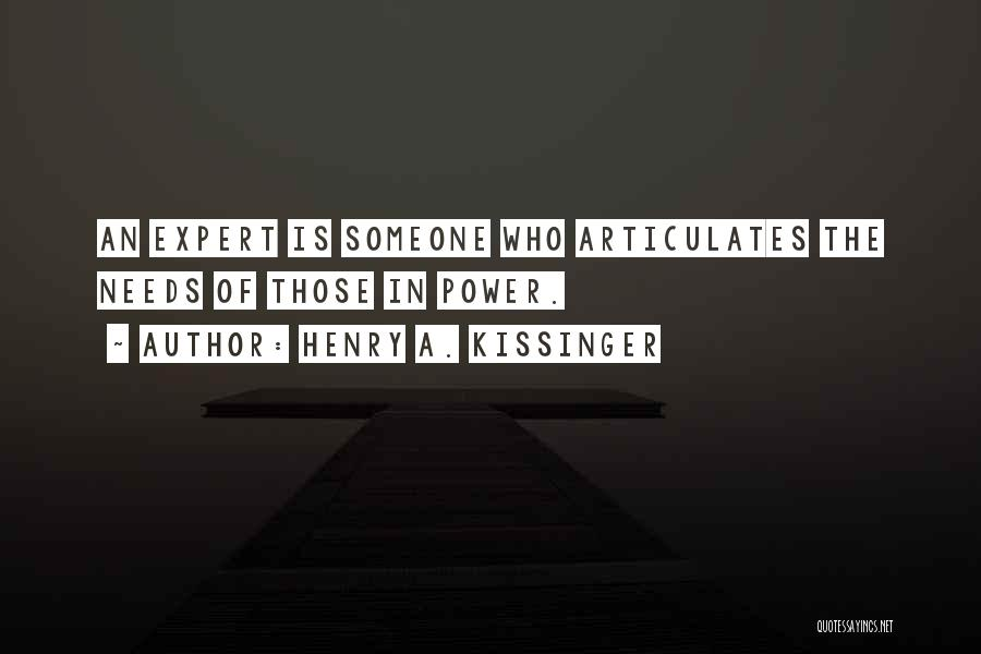Henry A. Kissinger Quotes 428536