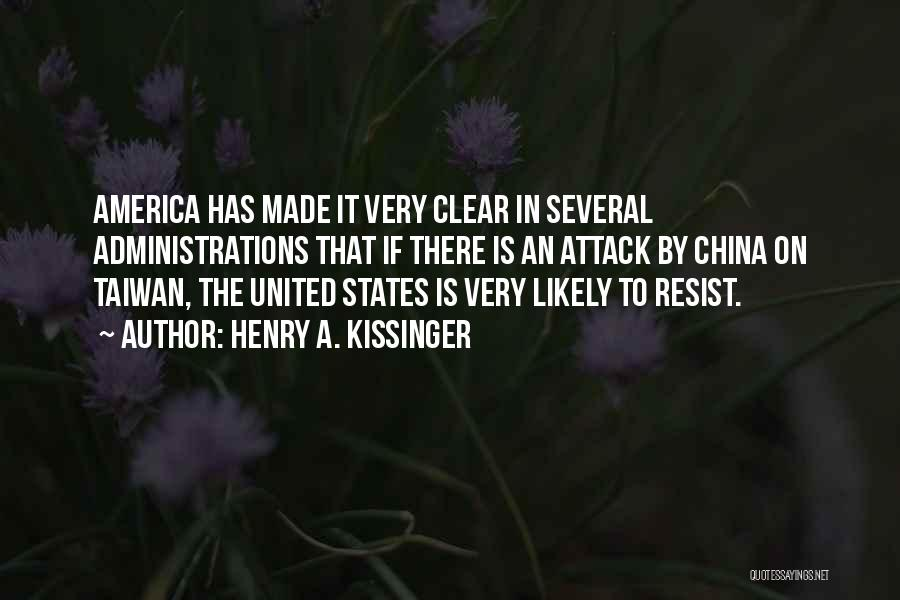Henry A. Kissinger Quotes 463530