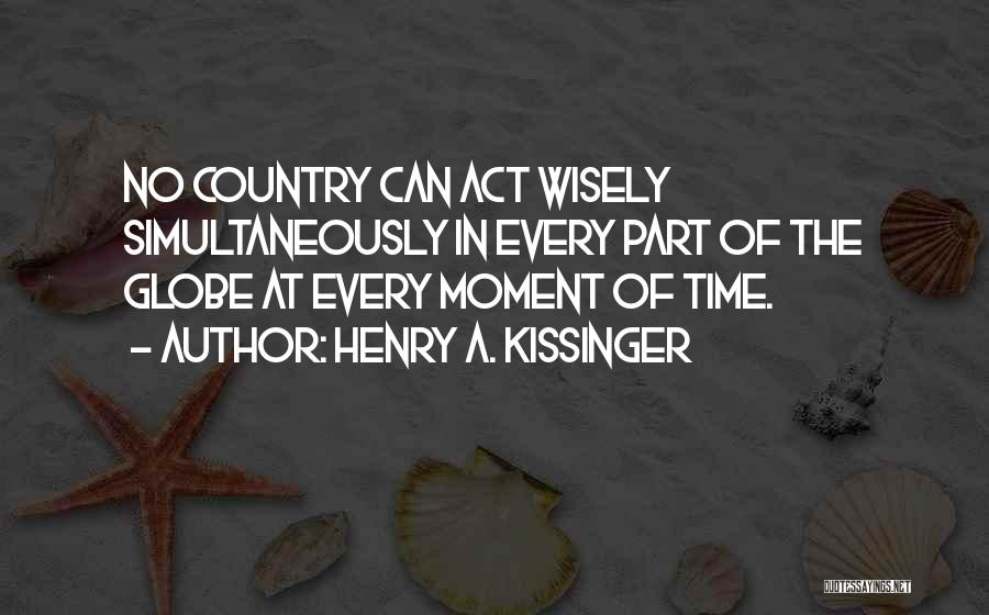 Henry A. Kissinger Quotes 735992