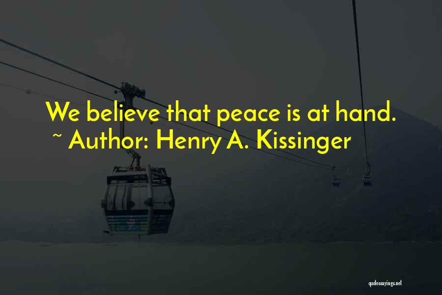 Henry A. Kissinger Quotes 788291