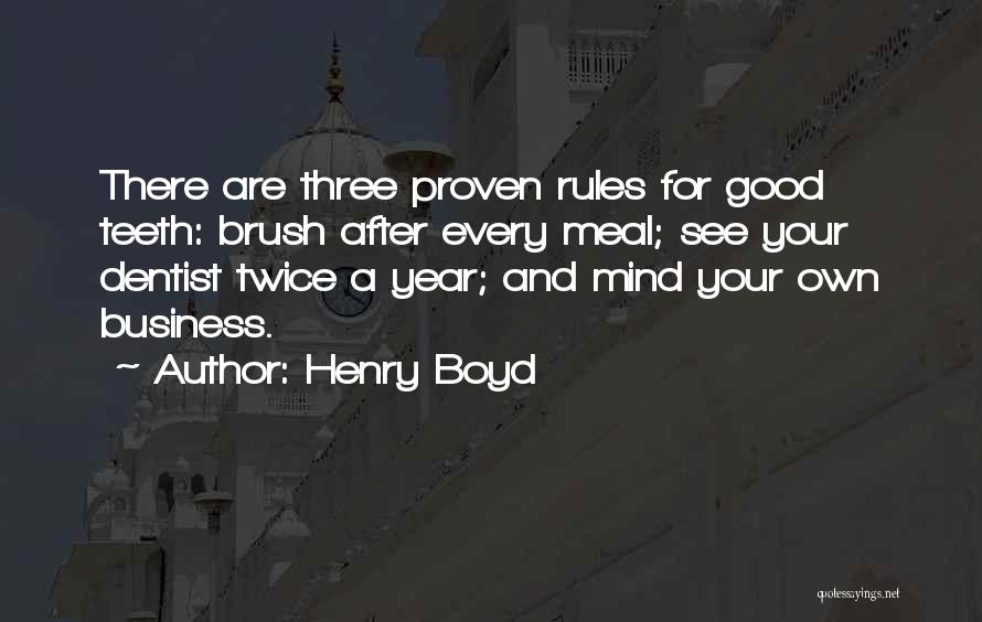 Henry Boyd Quotes 1011937