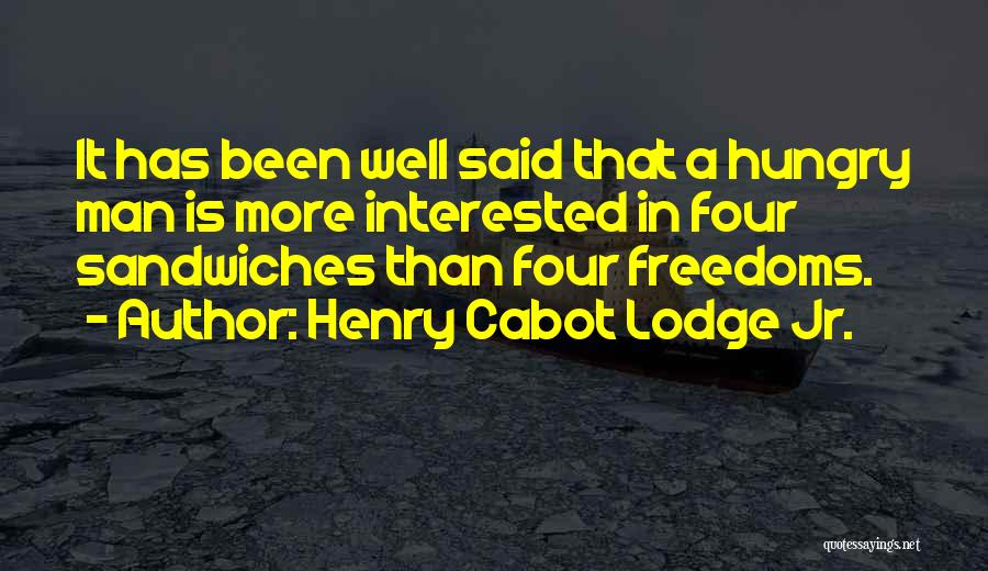 Henry Cabot Lodge Jr. Quotes 102833