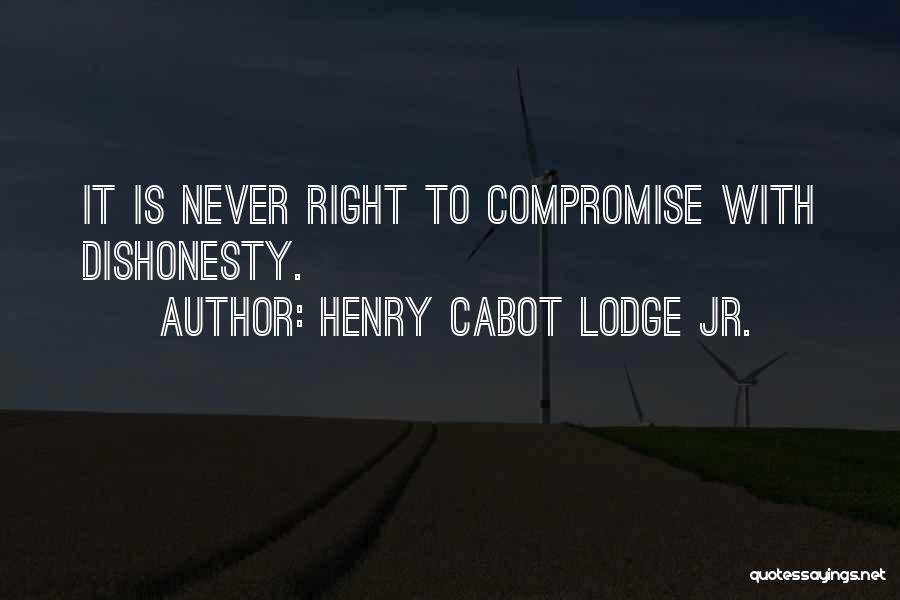 Henry Cabot Lodge Jr. Quotes 605348