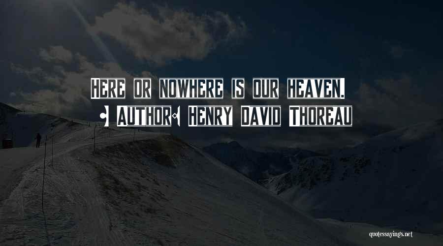 Henry David Thoreau Quotes 1800321