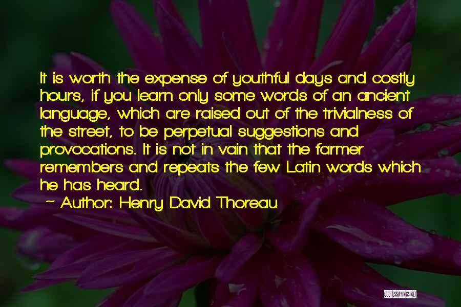 Henry David Thoreau Quotes 507950