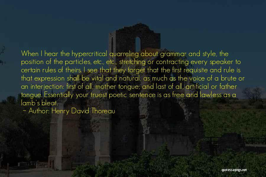Henry David Thoreau Quotes 817226
