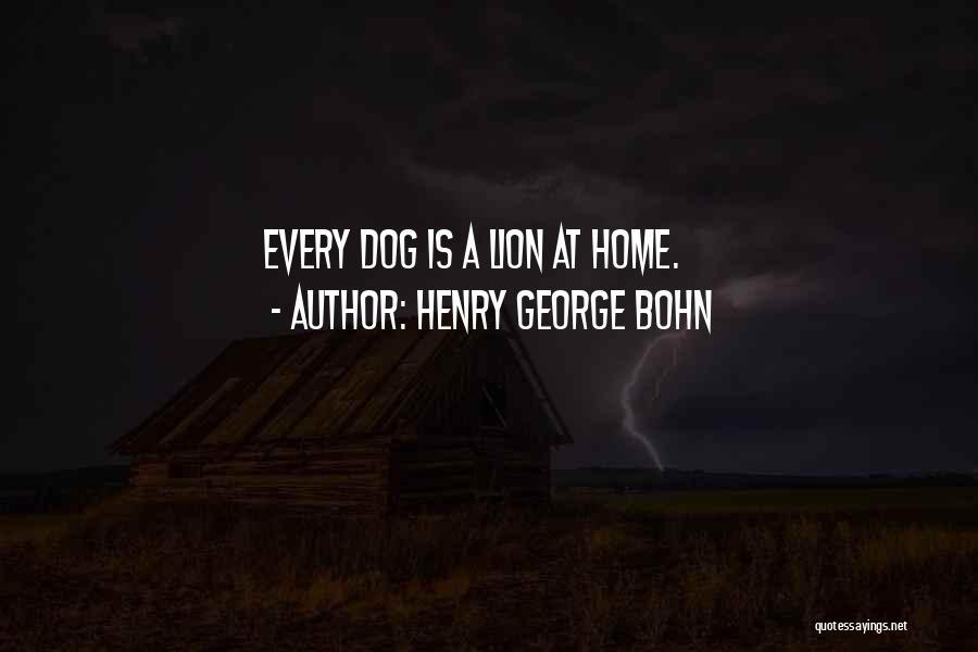 Henry George Bohn Quotes 1031071