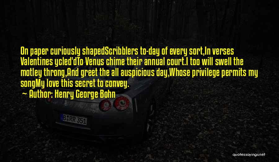 Henry George Bohn Quotes 1828064