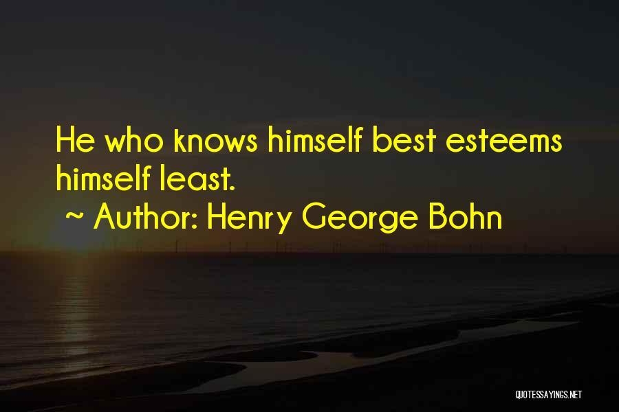 Henry George Bohn Quotes 931942