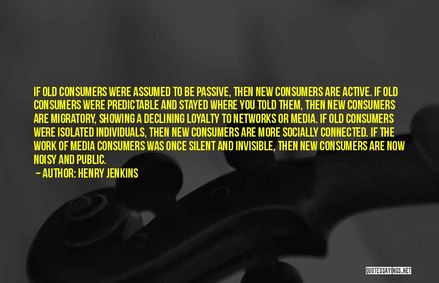 Henry Jenkins Quotes 1560699