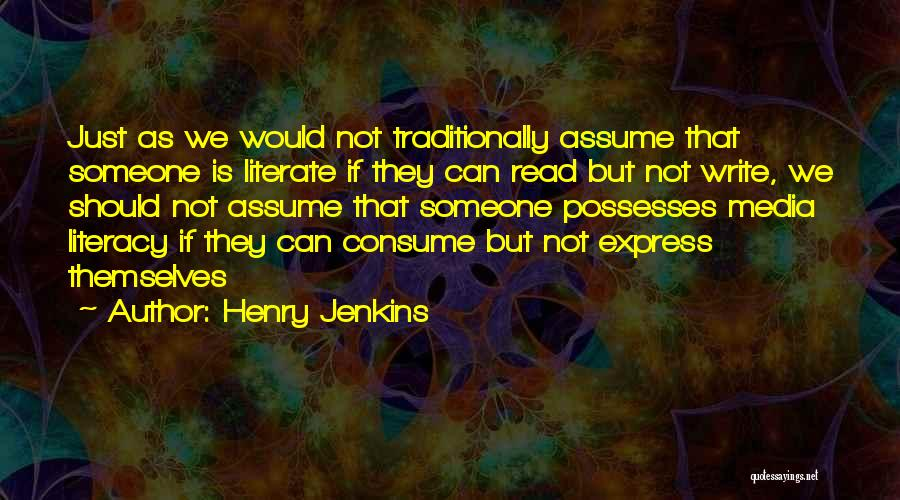 Henry Jenkins Quotes 164139