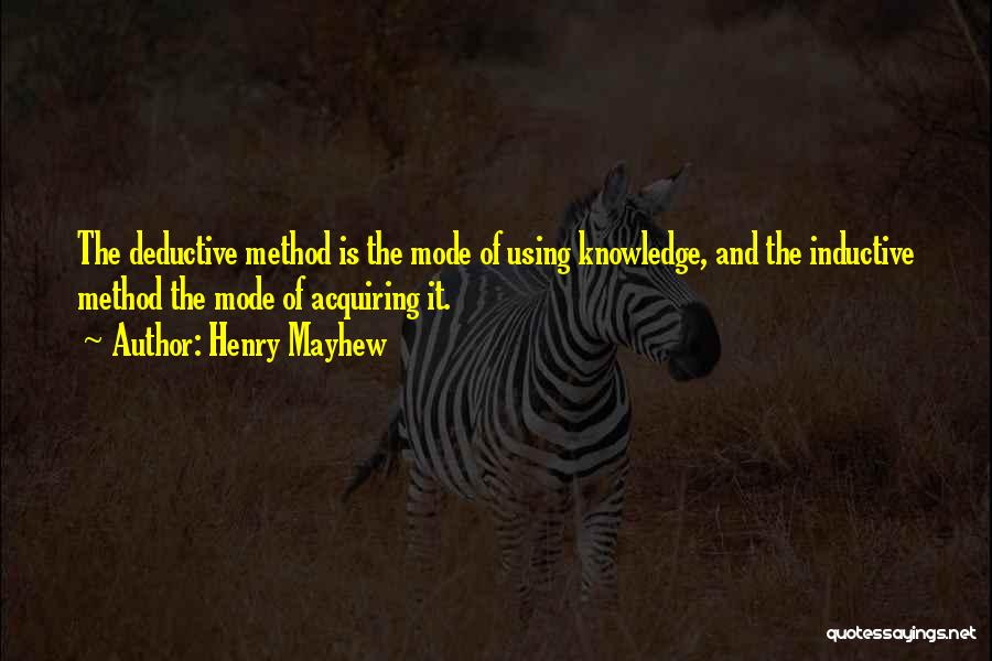 Henry Mayhew Quotes 1548003