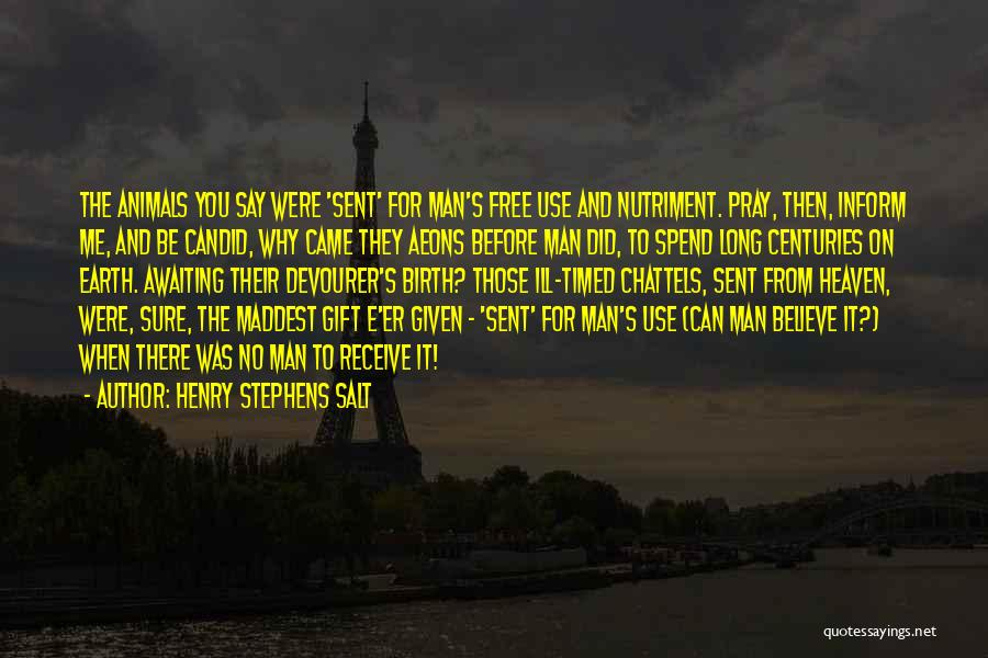 Henry Quotes By Henry Stephens Salt