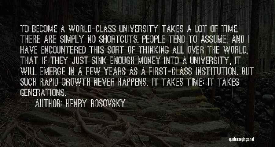 Henry Rosovsky Quotes 1415114