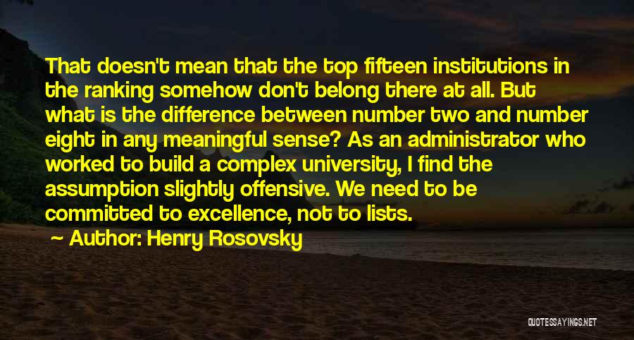 Henry Rosovsky Quotes 1692945