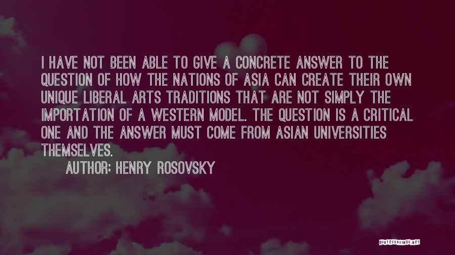 Henry Rosovsky Quotes 2137412