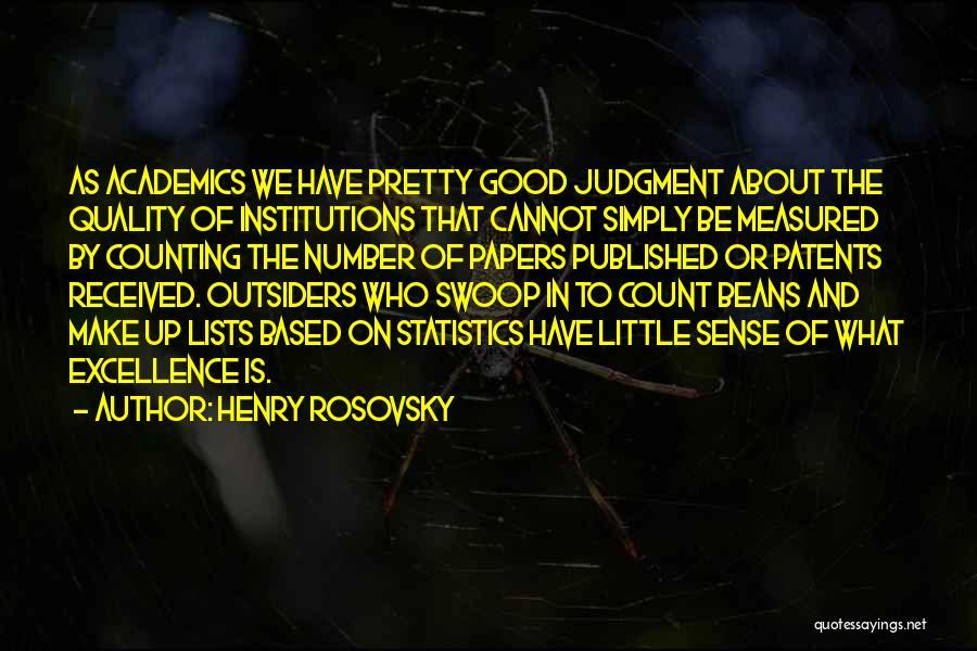 Henry Rosovsky Quotes 374963