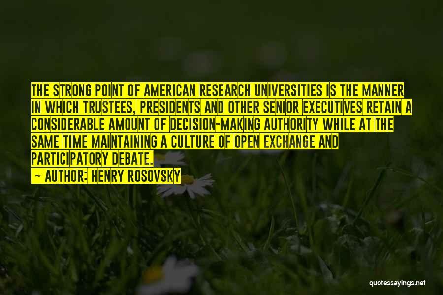 Henry Rosovsky Quotes 890079