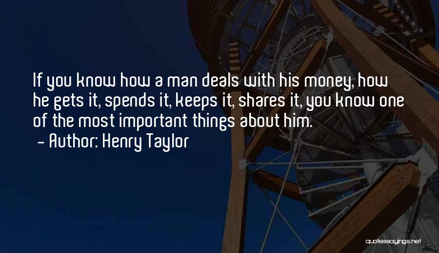 Henry Taylor Quotes 1909049