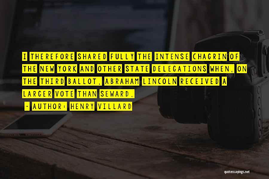 Henry Villard Quotes 148008