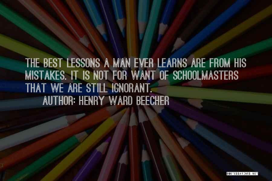 Henry Ward Beecher Quotes 1119941