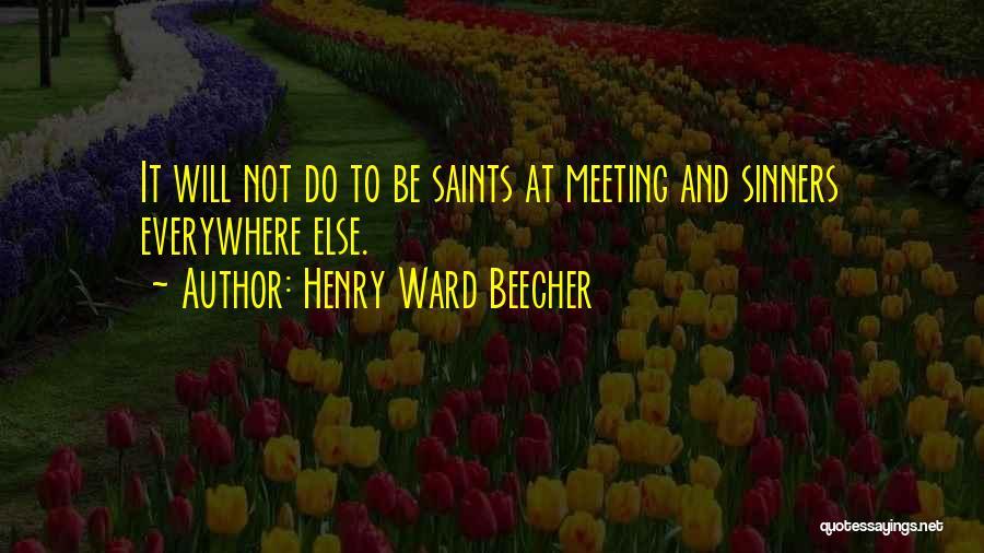 Henry Ward Beecher Quotes 1145510