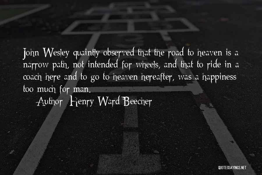 Henry Ward Beecher Quotes 1360815