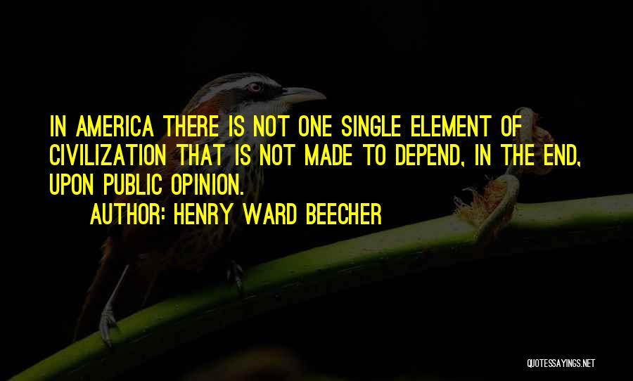 Henry Ward Beecher Quotes 1921266