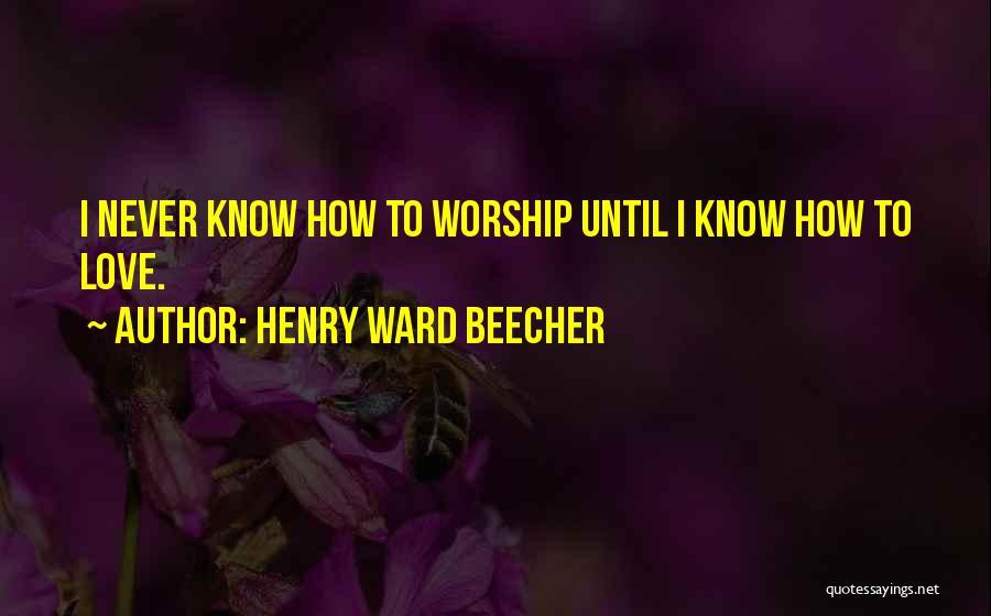 Henry Ward Beecher Quotes 2112200