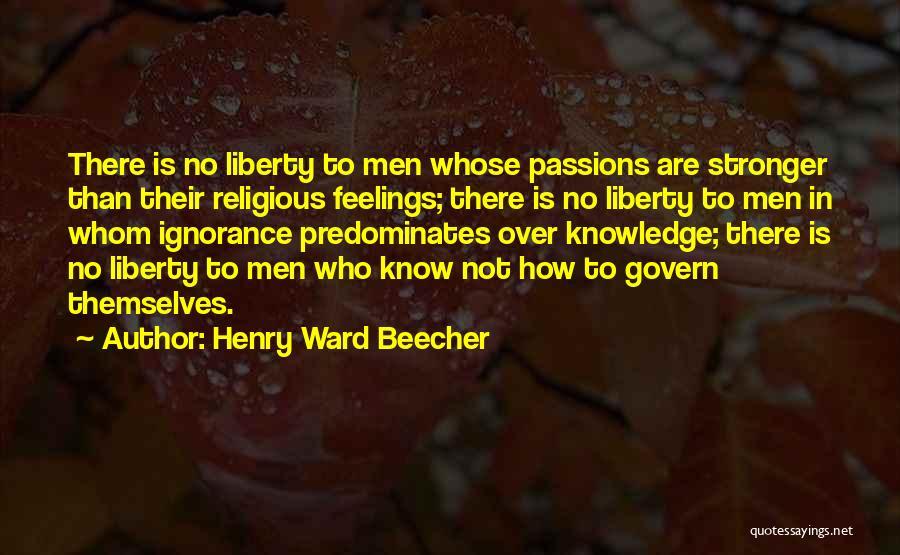 Henry Ward Beecher Quotes 410512