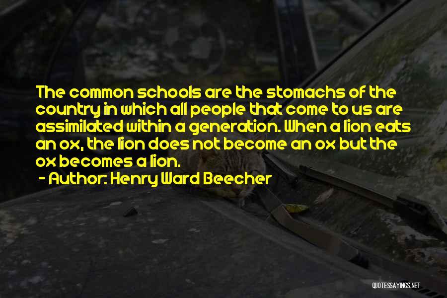 Henry Ward Beecher Quotes 588226