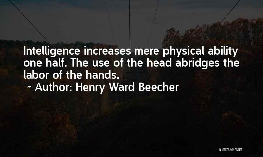 Henry Ward Beecher Quotes 662271