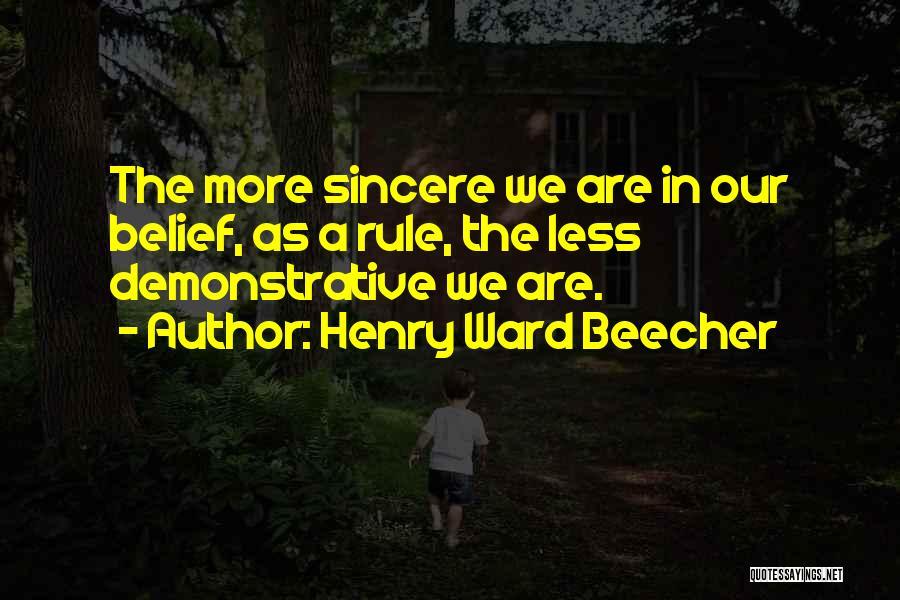 Henry Ward Beecher Quotes 676198