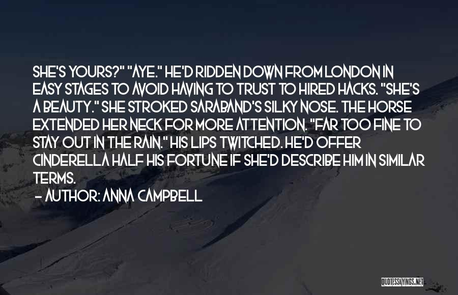 Her Beauty Quotes By Anna Campbell