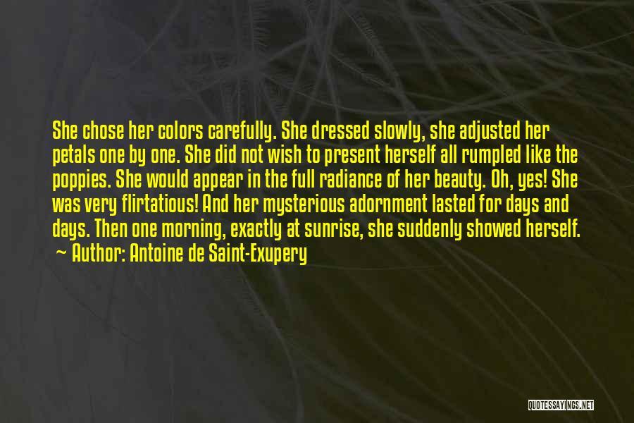 Her Beauty Quotes By Antoine De Saint-Exupery