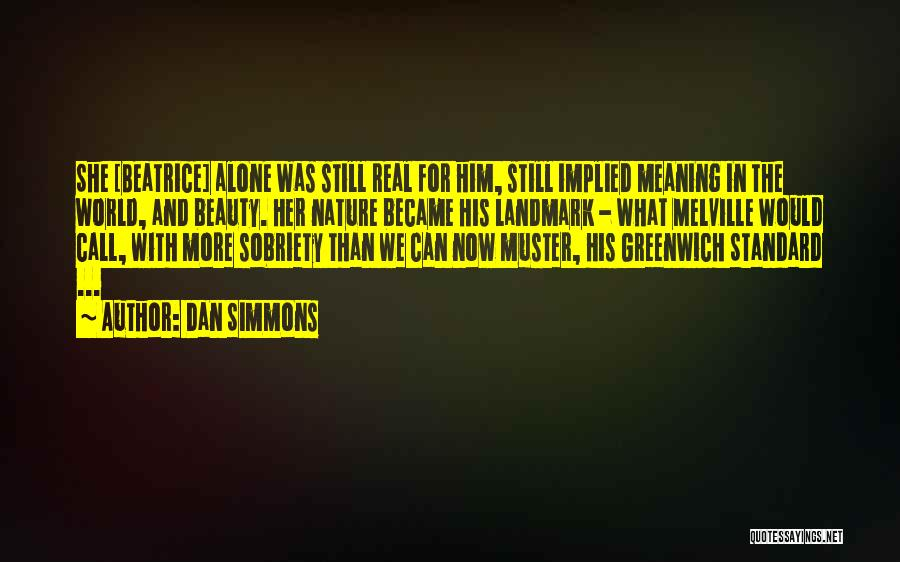 Her Beauty Quotes By Dan Simmons