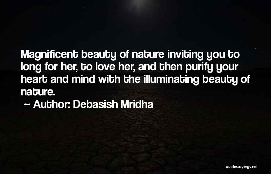 Her Beauty Quotes By Debasish Mridha