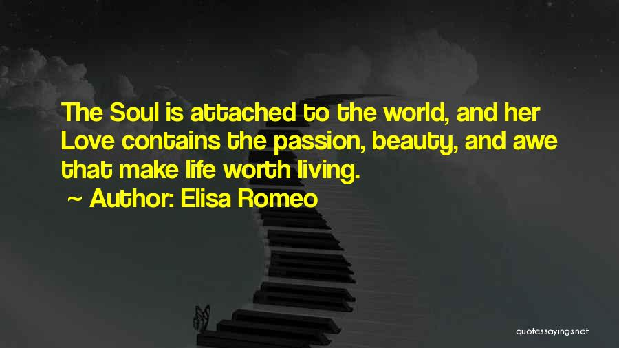 Her Beauty Quotes By Elisa Romeo