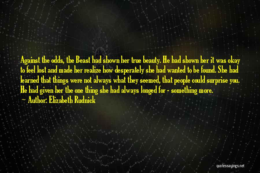 Her Beauty Quotes By Elizabeth Rudnick