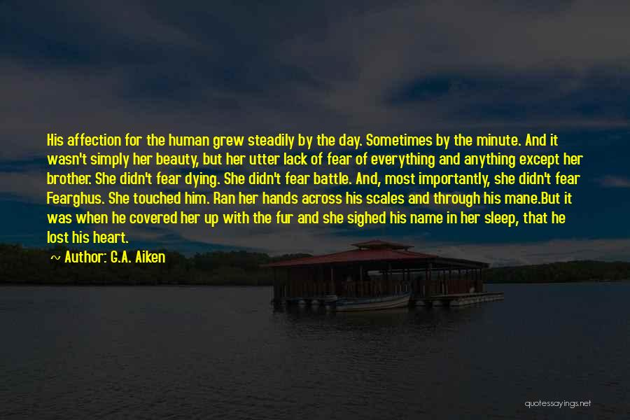 Her Beauty Quotes By G.A. Aiken