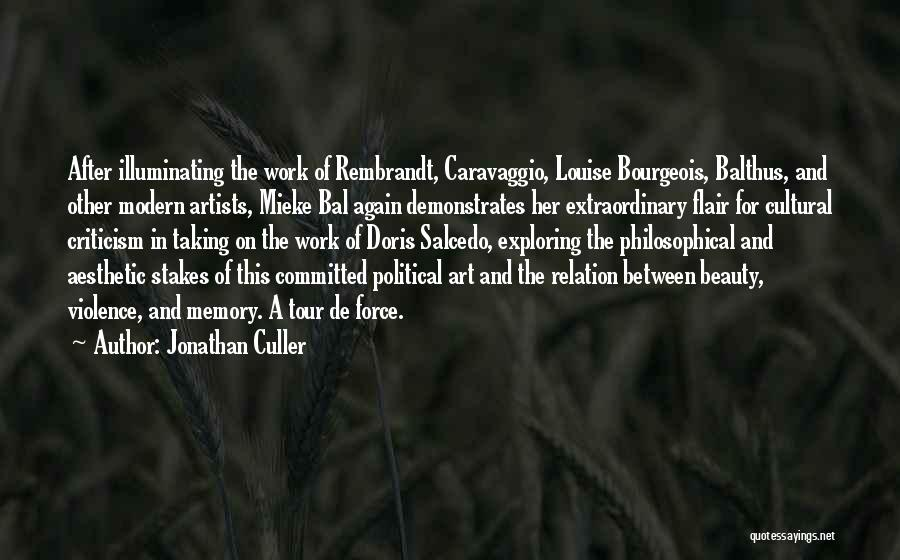 Her Beauty Quotes By Jonathan Culler