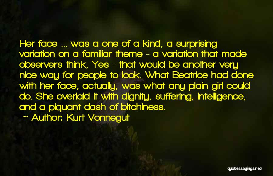Her Beauty Quotes By Kurt Vonnegut