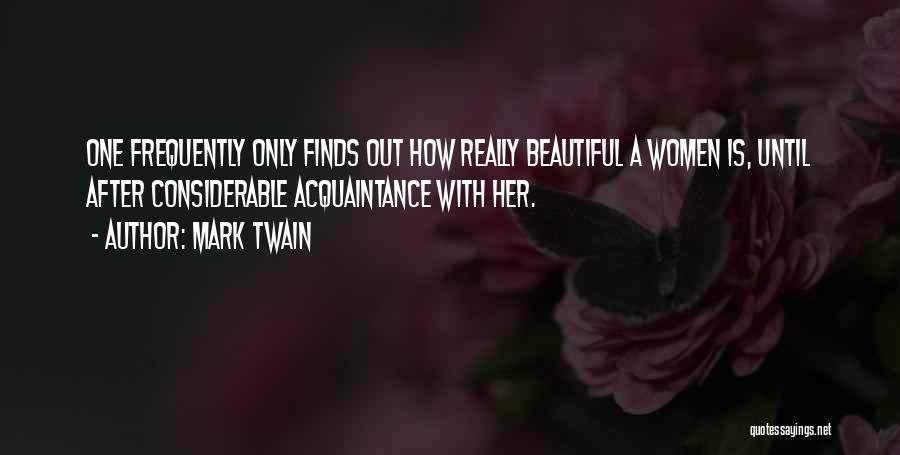 Her Beauty Quotes By Mark Twain