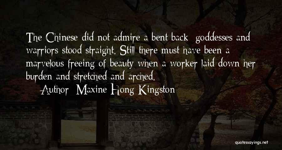 Her Beauty Quotes By Maxine Hong Kingston