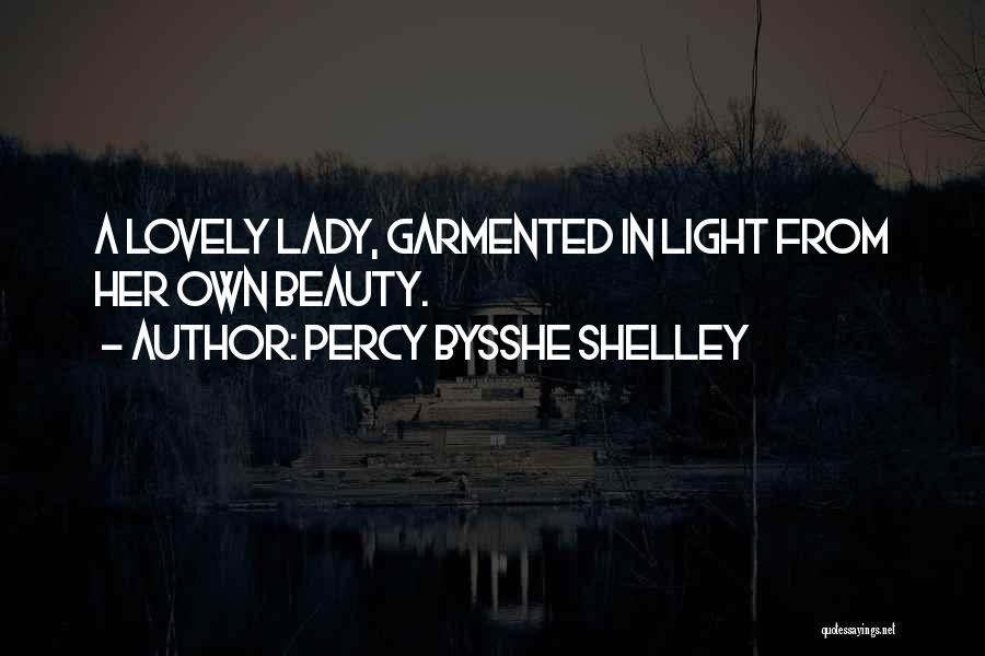 Her Beauty Quotes By Percy Bysshe Shelley