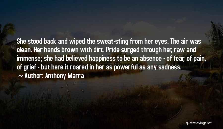 Her Brown Eyes Quotes By Anthony Marra