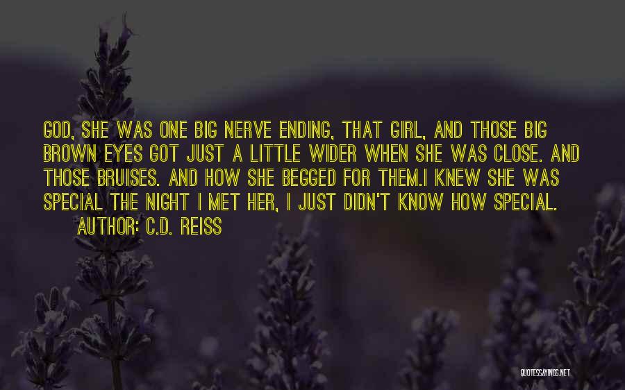 Her Brown Eyes Quotes By C.D. Reiss